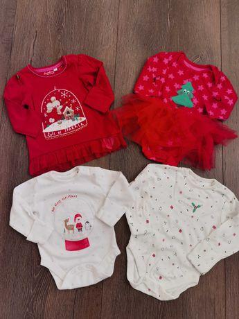 Lot hăinuțe tematica Crăciun 3-6 luni