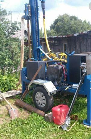 Бурение скважин на воду,установка насосов.