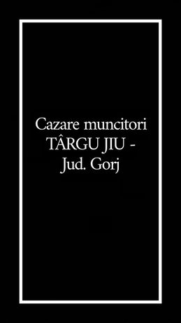 Cazare echipe de muncitori Targu Jiu