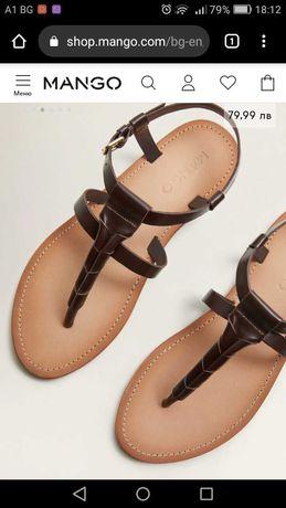Дамски сандали Mango 37