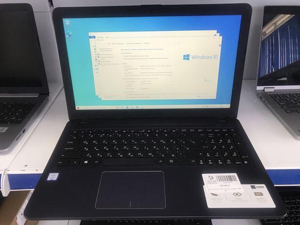Ноутбук Asus Core i3-7/HDD 1Тб/ОЗУ 4Гб/Рассрочка 0-0-12