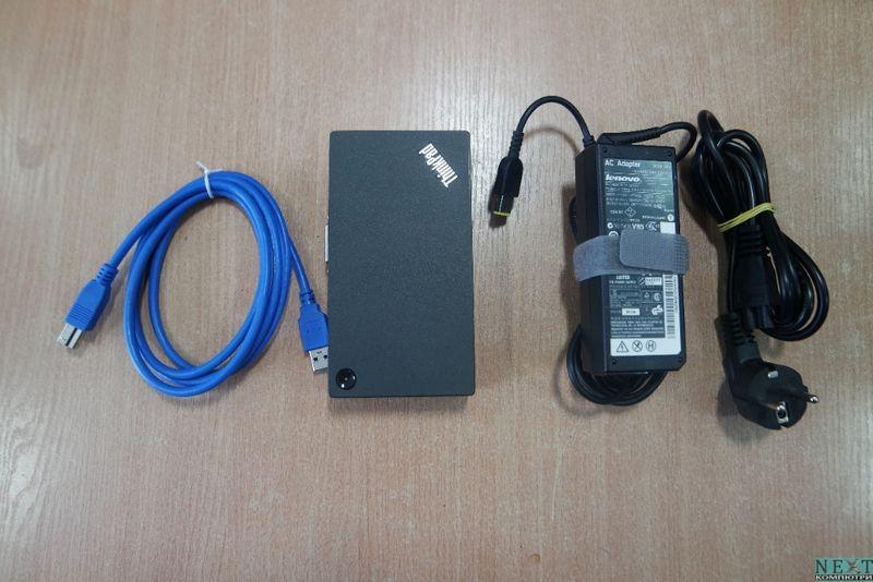 Докинг станция Lenovo ThinkPad USB 3.0 Pro Dock 40A7 + Гаранция гр. Бургас - image 1