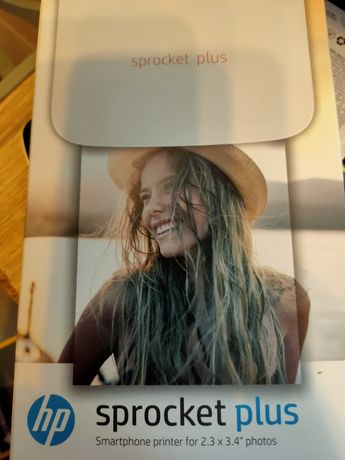 Vand imprimanta wireless HP Sprocket Plus, pt telefon, tableta, NOUA