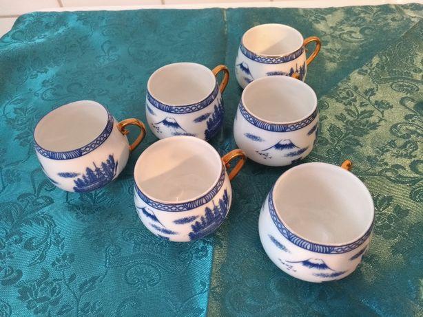 Set 6 cescute pentru cafea espresso din portelan China