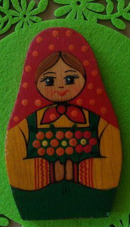 Руска дървена матрьошка