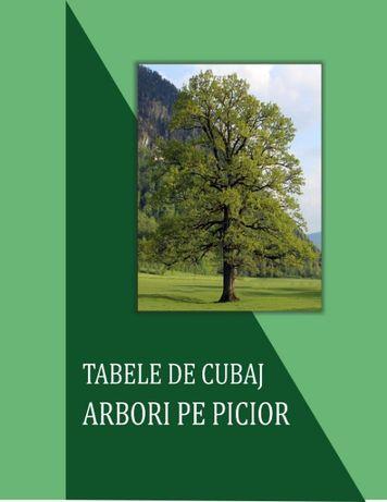 Tabele de Cubaj Arbori pe Picior