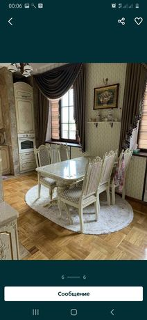 Продам стол со стульями состояние отличное
