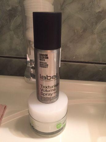 Spray Label Texturing Volume Spray