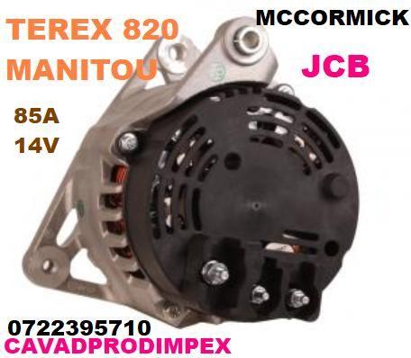 Alternator nou Denso TEREX 820 ,JCB,Manitou,Bobcat,Landini