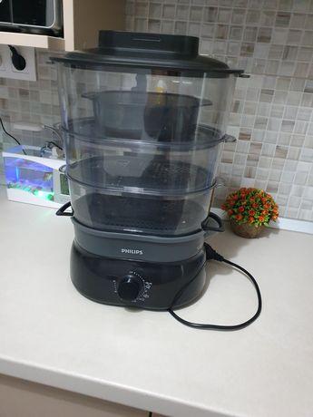 Vând aparat de gătit cu aburi Philips
