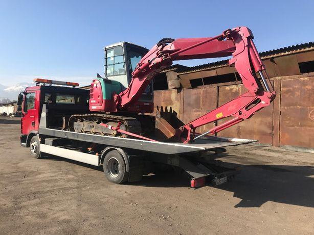 Услуги/ мини экскаватор трактор YANMAR B6-6