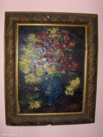tablou- Vaza cu flori vac