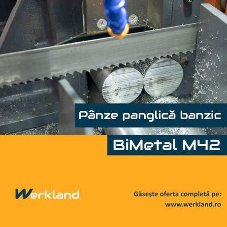 Panze panglica banzic BiMetal M42 2080x20x0.9x10/14 DPI
