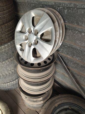 Продам железные диски 114/3 R15