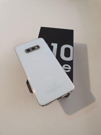 Samsung S10e white, 128 GB, full box, Impecabil (ca nou)