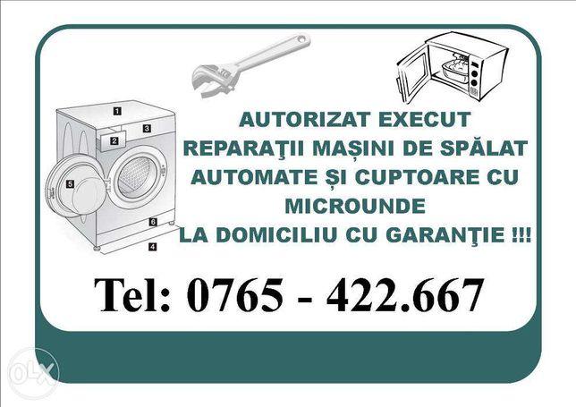 Reparatii masini de spalat automate la domiciliu Oradea, BIHOR
