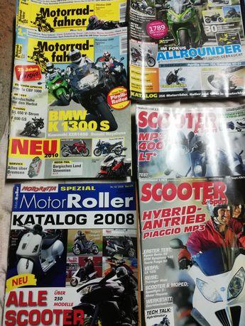 Списания за мотоциклети и скутери