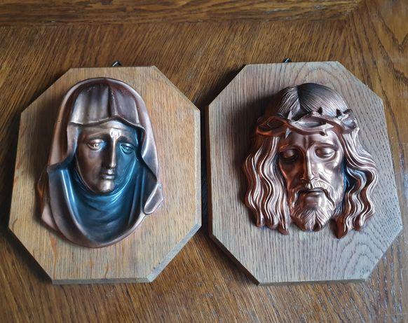 Iconite cu Isus si fecioara Maria