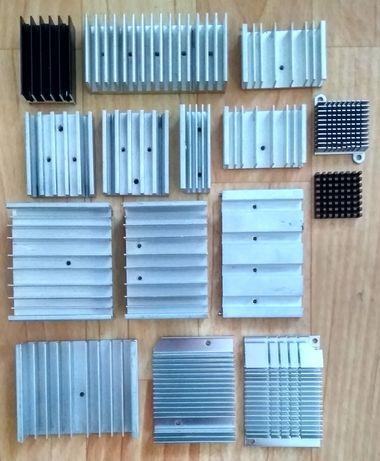 Алюминиевые Радиаторы Теплоотводы, 20 шт
