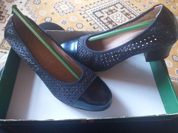 Pantofi piele Pitillos