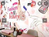 Фототапет за салон за красота