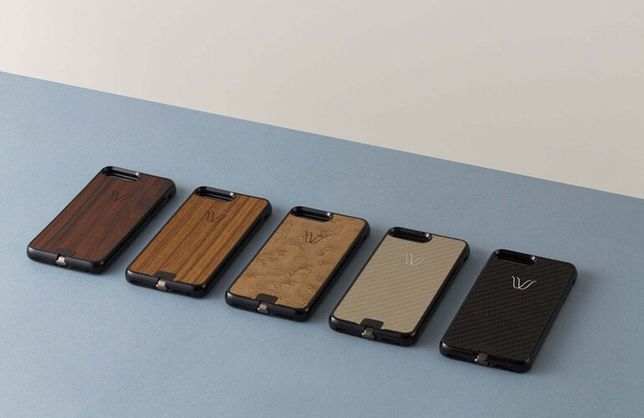 Husa lemn Iphone 6, 6 Plus, 7 Plus original Woodie Milano