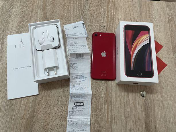 iphone se 2020 красный 64гб 140000 тенге