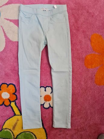 Pantaloni fete, HM, marime 116-122
