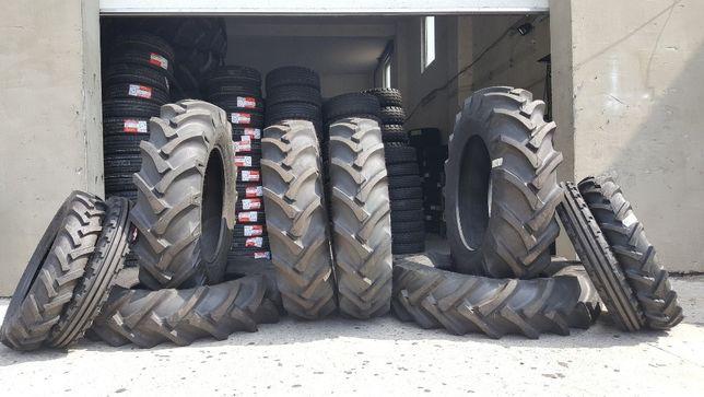 Cauciucuri de tractor12.4-28 BKT noi cu garantie 2 ani 8 randuri ata
