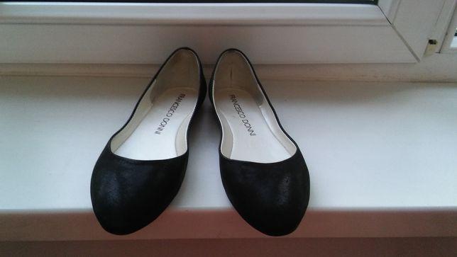 Туфли балетки 36 размера кожаные новые