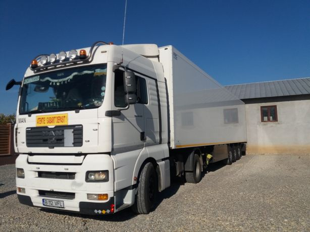 "Transport temperatura controlată ""Transport frigorific"" 24 tone"