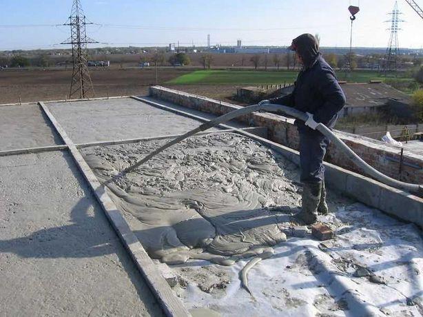 Утепление крыш Заливка Пенобетон Пенабетон Пена 100% гарантия 5 лет