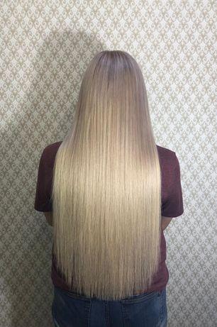 Акция! Наращивание волос, коррекция, кератин, ботокс, причёски