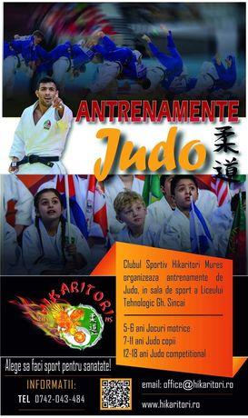 Cursuri / Antrenamente Judo Mures