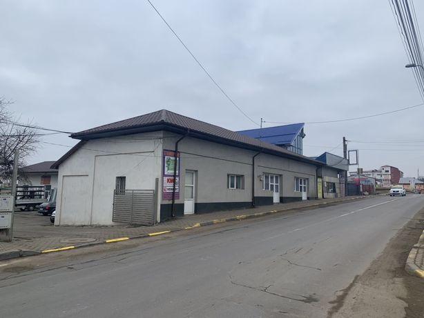 Spatiu comercial + teren Str Cuza Vodă 2000 mp
