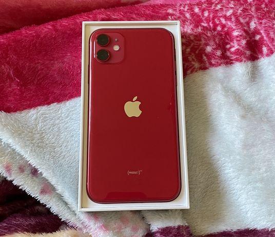 Красный Iphone 11 64gb