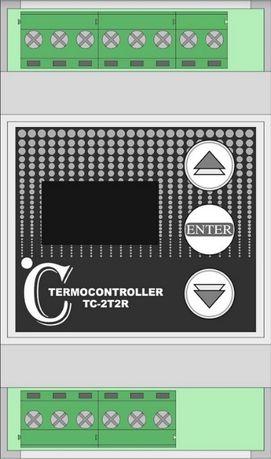 Термостат , терморегулатор, термоконтролер с OLED и 4 температури