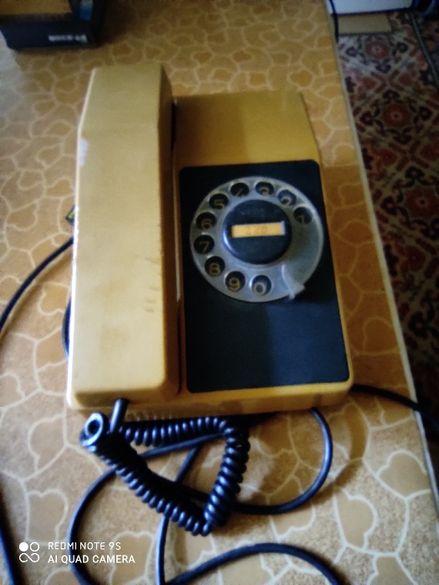 Ретро телефон с шайба и с копчета