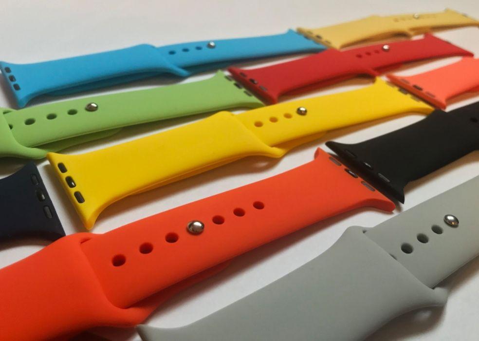 Bratara curea Apple Watch 42/44 mm din silicon Bucuresti - imagine 1