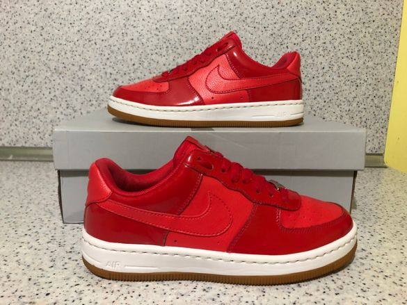 ОРИГИНАЛНИ *** Nike Air Force 1 Ultra / Action Red Metallic Silver