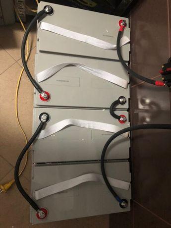 4 Acumulatori, baterii, gel 12v 100A, fotovoltaice, martie 2021