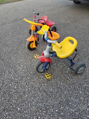 Triciclete trotinete