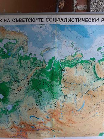 Географски карти