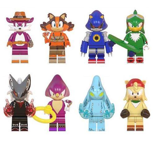 Minifigurine noi tip Lego Sonic pack3 cu Jet si Chaos
