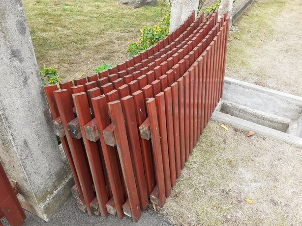 Vând gard lemn stejar