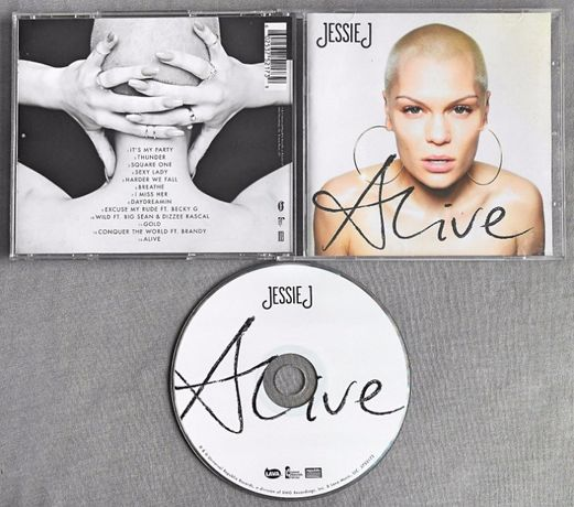 Jessie J - albume CD: Alive, Sweet Talker, Who You Are
