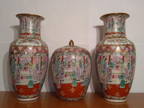 Vaze Asiatice Imperiale 'Famille rose' - RARITATE