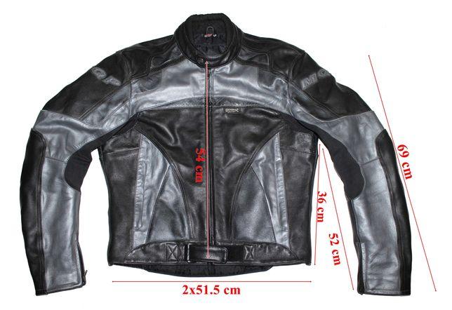 Costum moto piele MQP Dynamic Cruiser barbati marimea 54(XL)