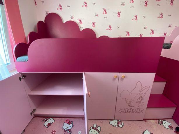 Mobila camera copii roz-fucsia stare perfecta
