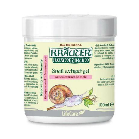 Kräuter® Gel cu extract de Melc pentru recuperarea si infrumusetarea p